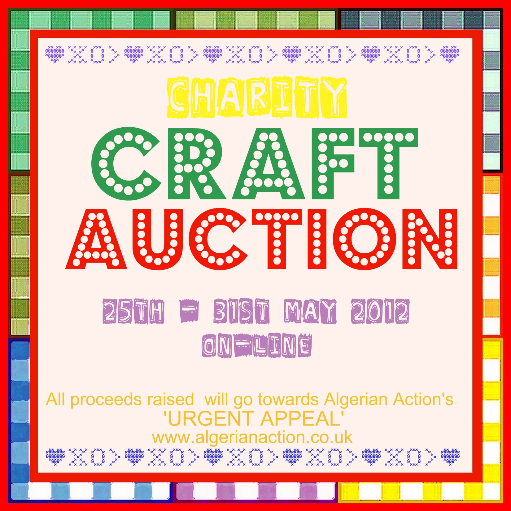 Charity Craft Auction | Algerian Action